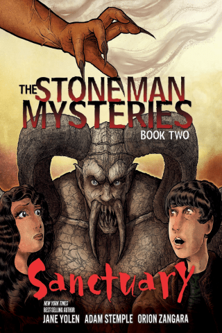 The Stone Man Mysteries: Book 2: Sanctuary