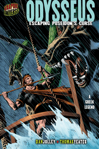 Graphic Myths and Legends: Odysseus: Escaping Poseidon's Curse [A Greek Legend]