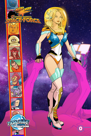 Space Force: Stormy Daniels #0