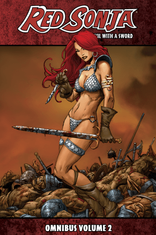 Red Sonja: She-Devil With A Sword Omnibus Vol 2