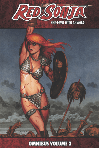 Red Sonja: She-Devil With A Sword Omnibus Vol 3