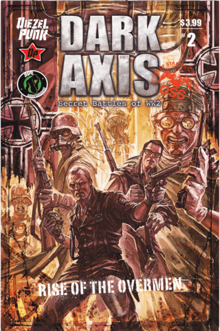 Dark Axis Rise of the Overmen #2