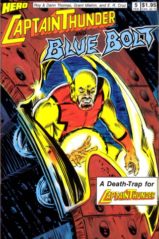 Captain Thunder & Blue Bolt Vol 1 #5
