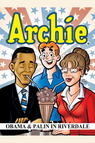 Obama & Palin in Riverdale