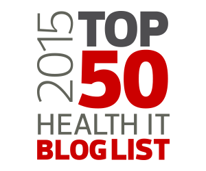 CDW 2015 TOP 50 Health IT Blog