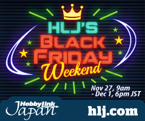 HobbyLink Japan Black Friday Sale