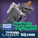 LG43 Trypticon by Takara Tomy