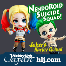 Nendoroid Joker and Harley Quinn at HobbyLink Japan