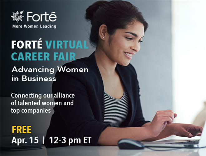 Forté Spring Virtual Career Fair Banner