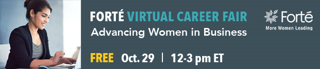 Forté Virtual Career Fair Banner