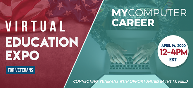 MyComputerCareer Virtual Education Expo Banner