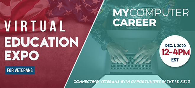 MyComputerCareer Virtual Education Expo Banner