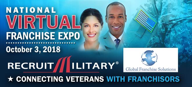 National Virtual Franchise Expo for Veterans Banner