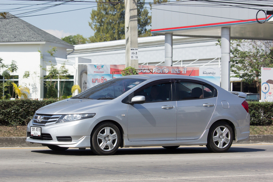 Os 10 carros menos roubados no Brasil- honda city