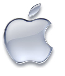 apple logo the daily egg