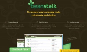 Bean Stalk Use of Whitepace in Website Design