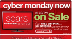 Sears Cyber Monday