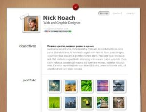Resume by Elegant Themes