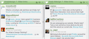 Follow Hashtag Questions in HootSuite