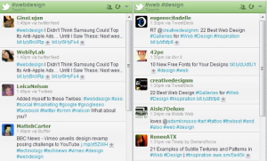 Following Twitter Hashtags in HootSuite