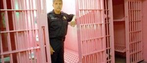 Pink Jail Cell