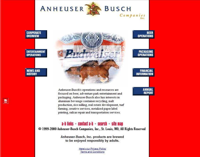 anheuser busch and campbell taggart case In 1973 he became the director of management systems for anheuser-busch anheuserbusch and campbell taggart leon pritzker is listed in the.