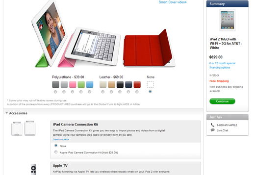 Apple's iPad Customization Options
