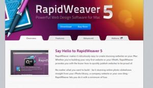 Rapidweaver Navigation