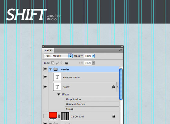 Design A Portfolio Website: Photoshop and the 960 Grid System