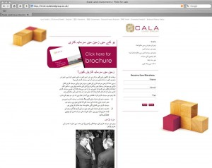 Arabic website