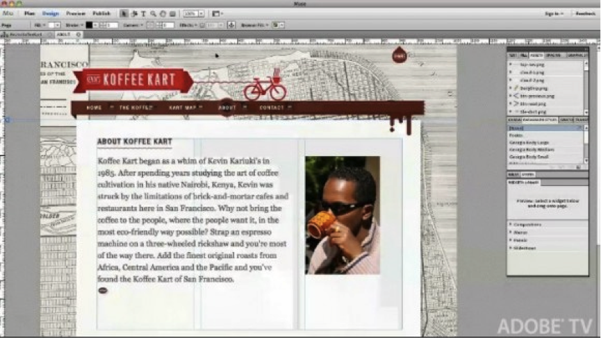 A Review of Adobe Muse: Adobe's New Web Design Tool