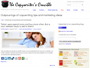 Copywriters Crucible