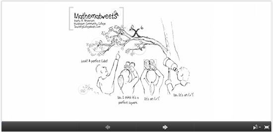 prezi mathematweets/