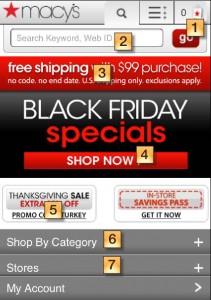Macys Black Friday Mobile