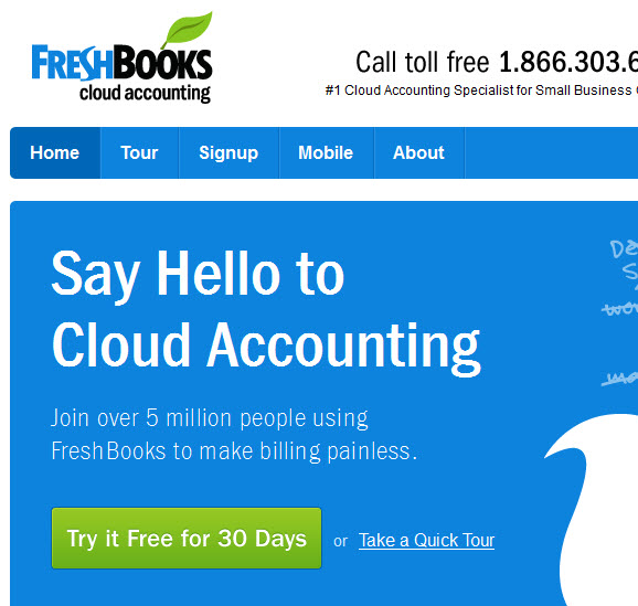 Cloud Accounting from Freshbooks