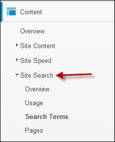 Content and Site Search Reports