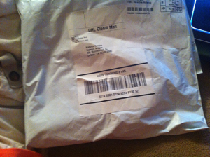package arrived