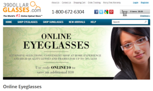 example of online store site