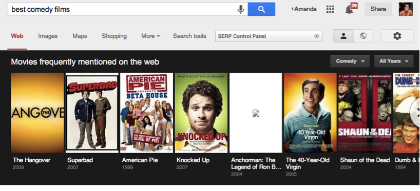 best comedy films google search