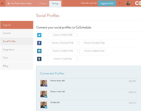 CoSchedule social