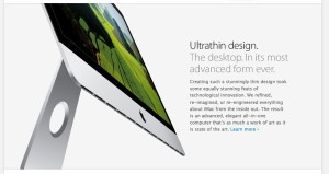 web page from Apple