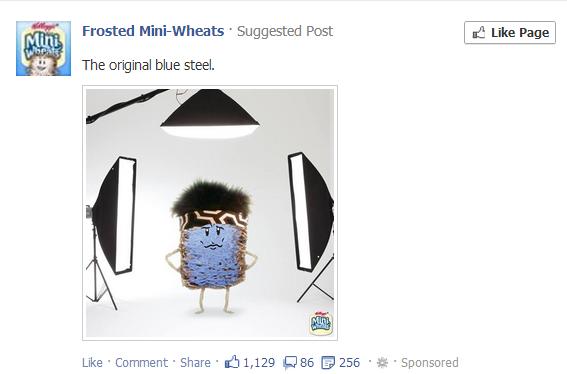 facebook newsfeed ad