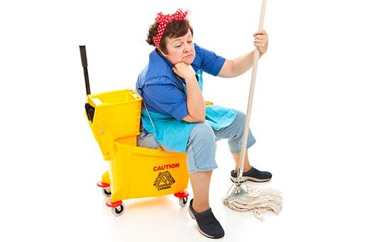 Depressed Housekeeper