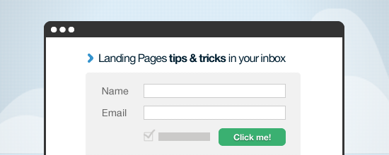 landing pages tricks and tips
