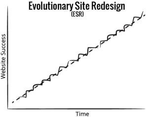 ESR continuously improves your website