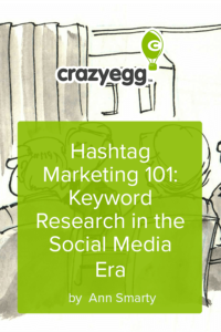 Hashtag Marketing 101 Keyword Research in the Social Media Era