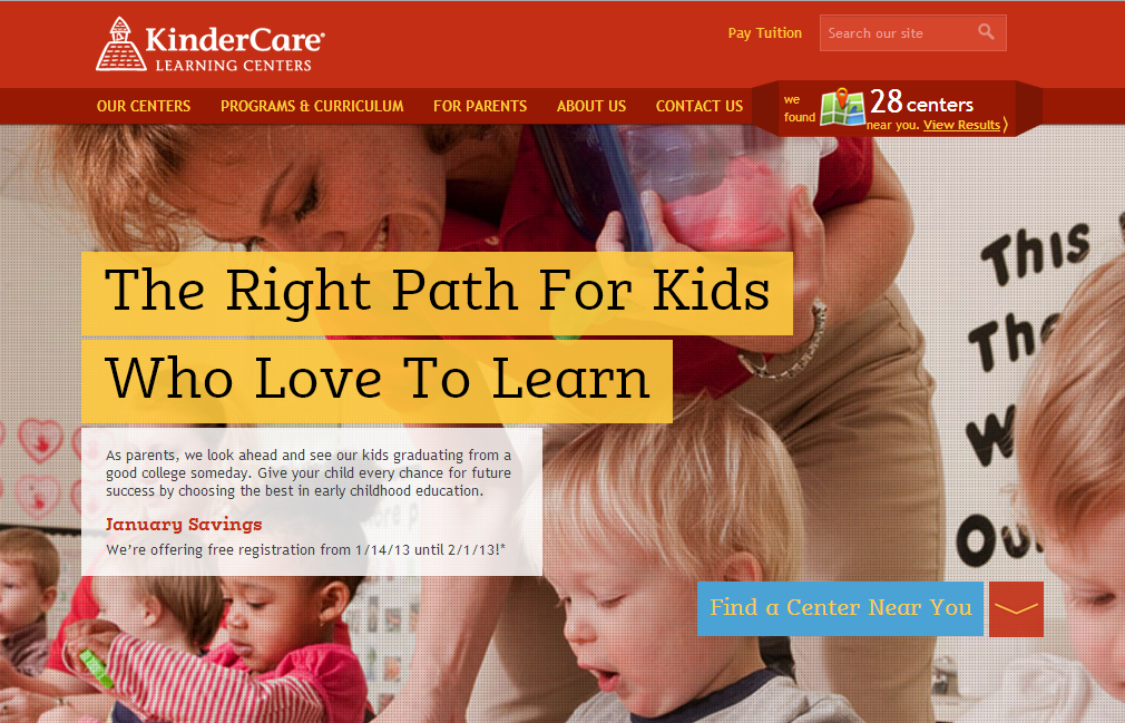 KinderCare's Winning Mega Image Version