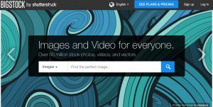 BigStock Homepage