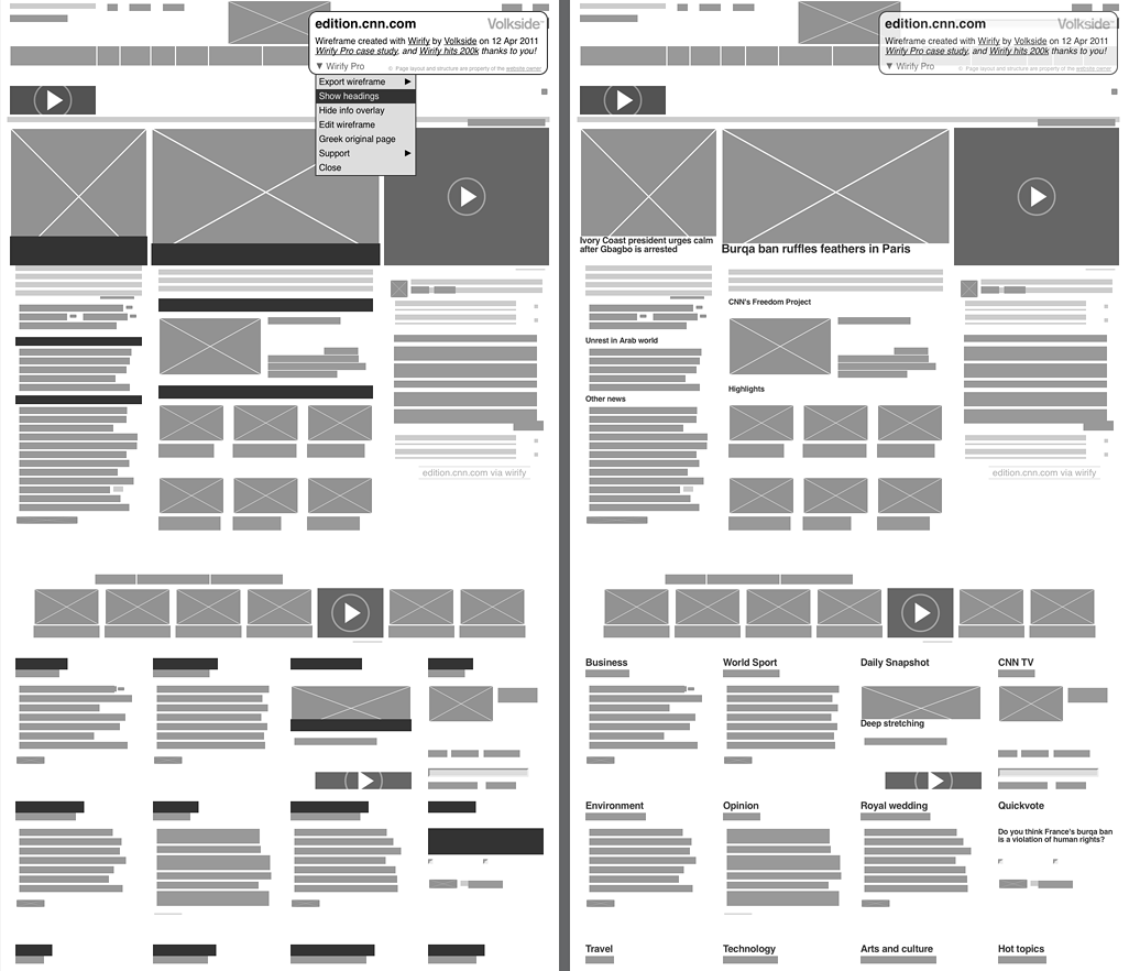 Wireframe: Improve Conversions The Moment Your Site Goes LIve