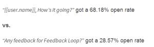feedback loop personalization strategy